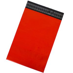 Red Poly Mailers