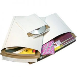 Rigid White Self Seal Photo Mailers