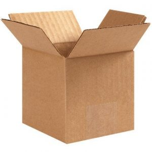 """4"""" Corrugated Brown Boxes"""
